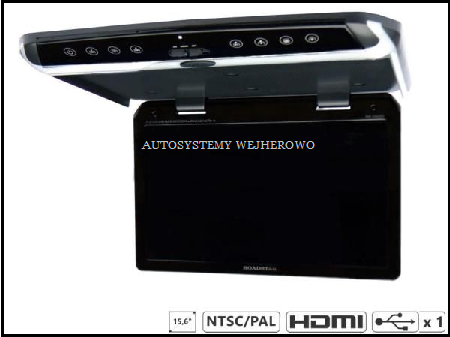 monitor podsufitowy do samochodu