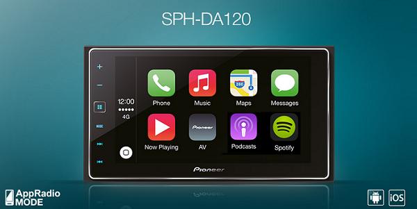 SPHDA120 RADIO PIONEER MIRROR LINK POŁACZENIE Z TELEFONEM
