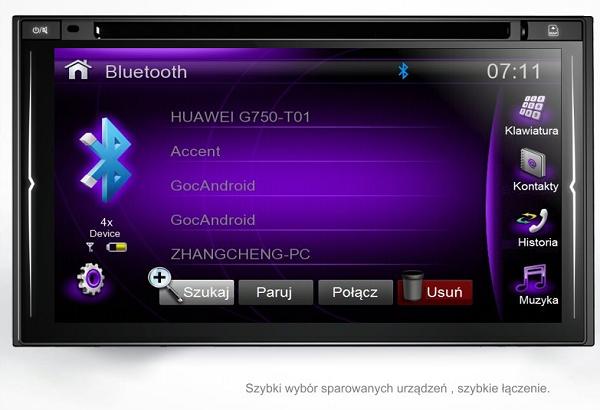 GMS 6808 NOWY BT CD SD PHONELINK