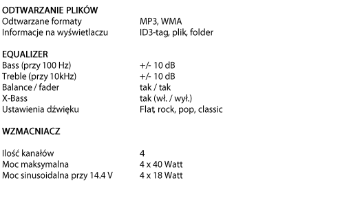 RADIO SAMOCHODOWE BLAUPUNKT MADRID 170BT AUTOSYSTEMY WEJHEROWO USB+SD 2017