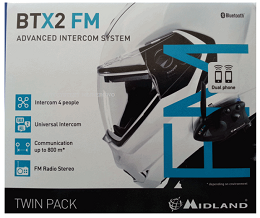 BTX2 FM SINGLE INTERKOM Z RADIEM MIDLAND
