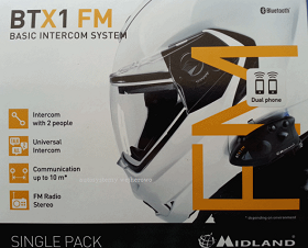 BTX1 FM SINGLE INTERKOM Z RADIEM MIDLAND