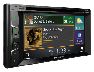 MULTIMEDIA PIONEER AVH-A3100DAB 2 DIN 6,2 CD DVD USB BT wejh