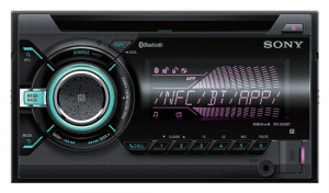 RADIO SAMOCHODOWE SONY WX 900BT 2 DIN CD USB BT NFC MULTI COLOR
