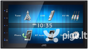 "STACJA MULTIMEDIA JVC KW-M24BT 2-DIN 6,8""USB+BT"