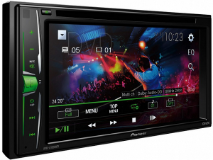 "STACJA MULTIMEDIA PIONEER AVH-A100DVD 2-DIN 6,2"" CD+DVD+USB+AUX"