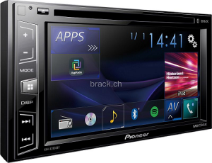 STACJA MULTIMEDIA PIONEER AVH-X2800BT 2-DIN 6,2 CD+DVD+USB
