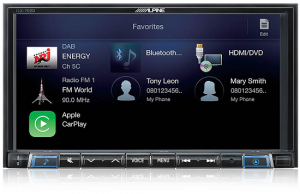 iLX-702D alpine 2 din stacja multimedia radio
