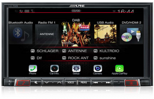 iLX-702D alpine 2 din stacja multimedia