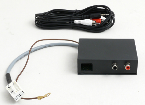 INTERFACE AUX-IN JACK 3,5MM STEREO ->VW-SEAT-SKODA WG WYKAZU BIAŁA MINI-FAKRA CD-VERSION