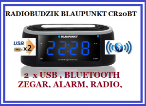 RADIOBUDZIK BLAUPUNKT Z BLUETOOTH CR20BT