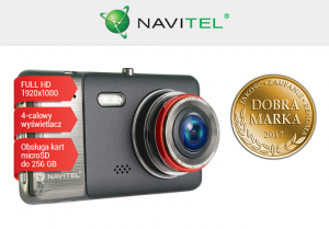 "NAVITEL REJESTRATOR VIDEO R800 DVR Full HD,4"",12Mpx,G-SENSOR,256GB"