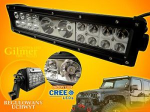 LISTWA LED GILMER  68W CW OFF ROAD