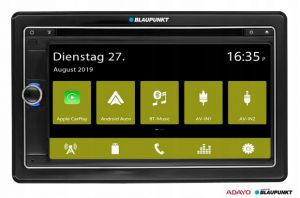 VIENNA 790 DAB Stacja multimedialna USB SD BT CD BLAUPUNKT ANDROID AUTO APPLE CARPLAY